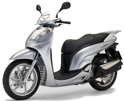 Rent a Honda SH 300cc car in Crete