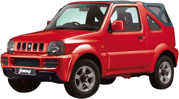 Rent a Suzuki Jimny car in Crete